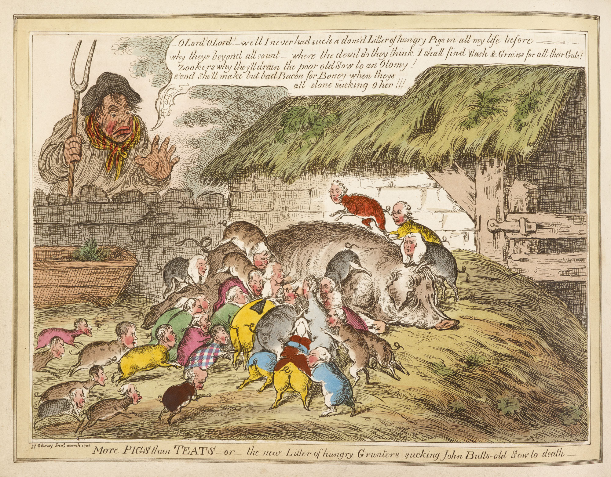 More PIGS than TEATS' by Gillray [page: facing p. 49]