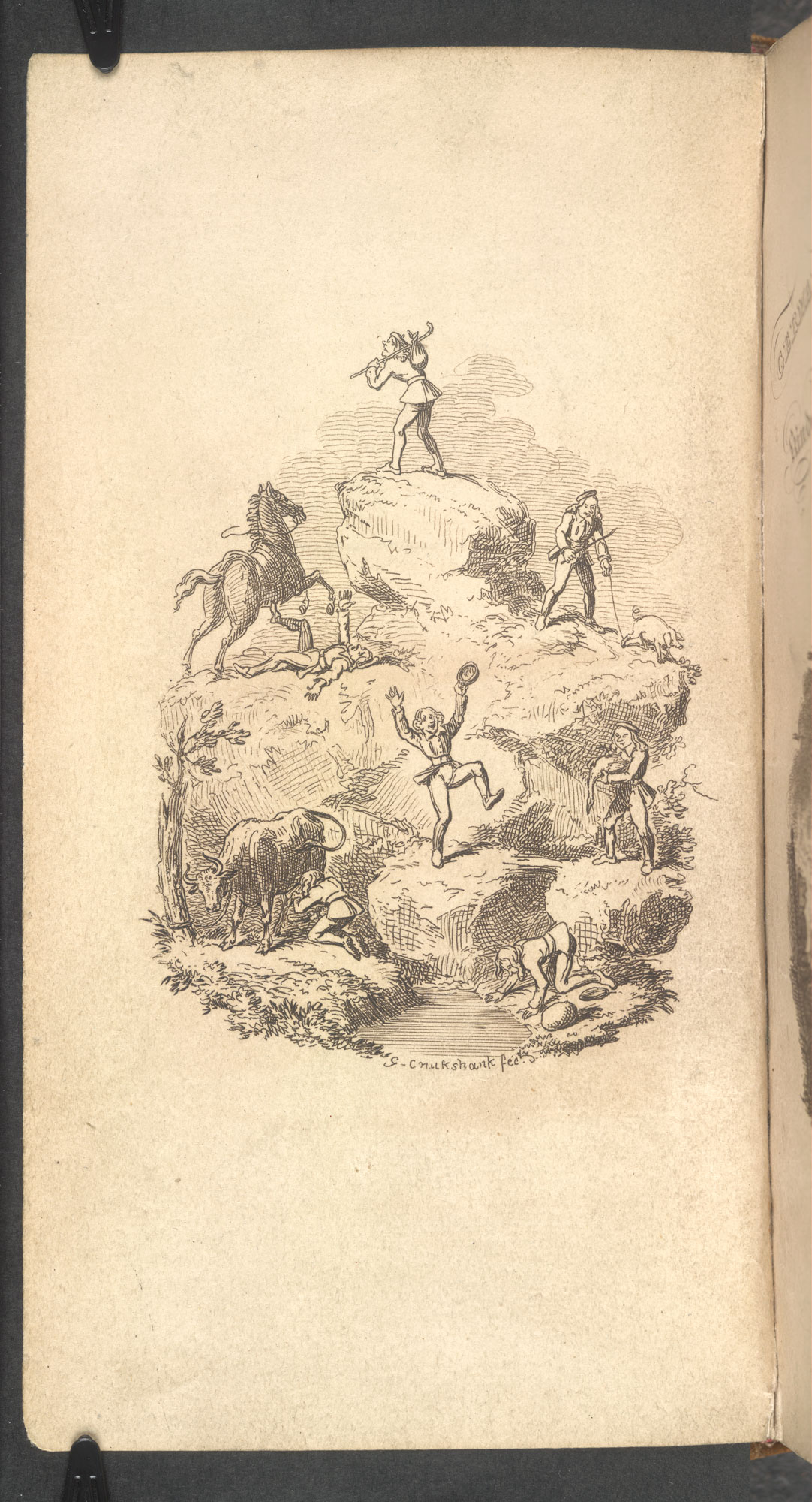 German Popular Stories, a translation of the Grimm brother's tales [page: frontispiece]
