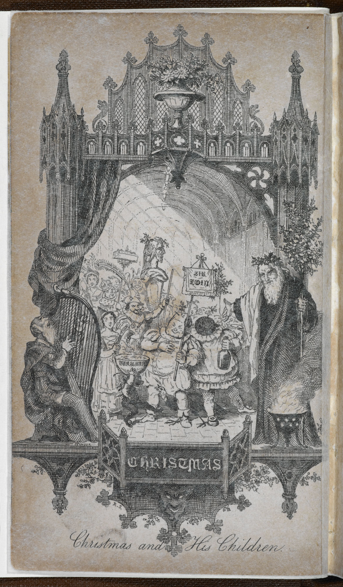 Hervey's The Book of Christmas [page: frontispiece]