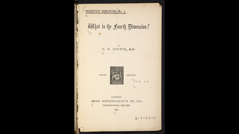 What is the Fourth Dimension? [page: title page]