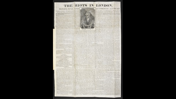 The Riots in London [page: front]