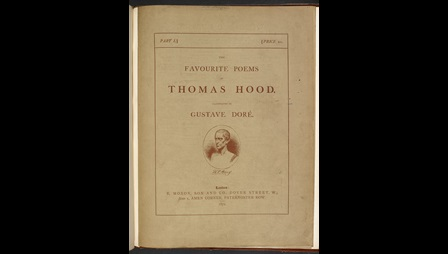 The Favourite Poems of Thomas Hood, with illustrations by Doré [page: front cover inserted at end]