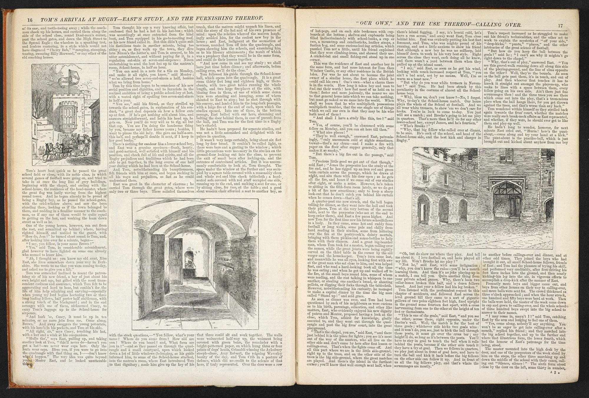 Tom Brown's Schooldays [page: 16-17]