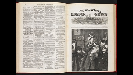 Front cover to the Illustrated London News, 30 March 1872 [page: pp. 300-[01]]