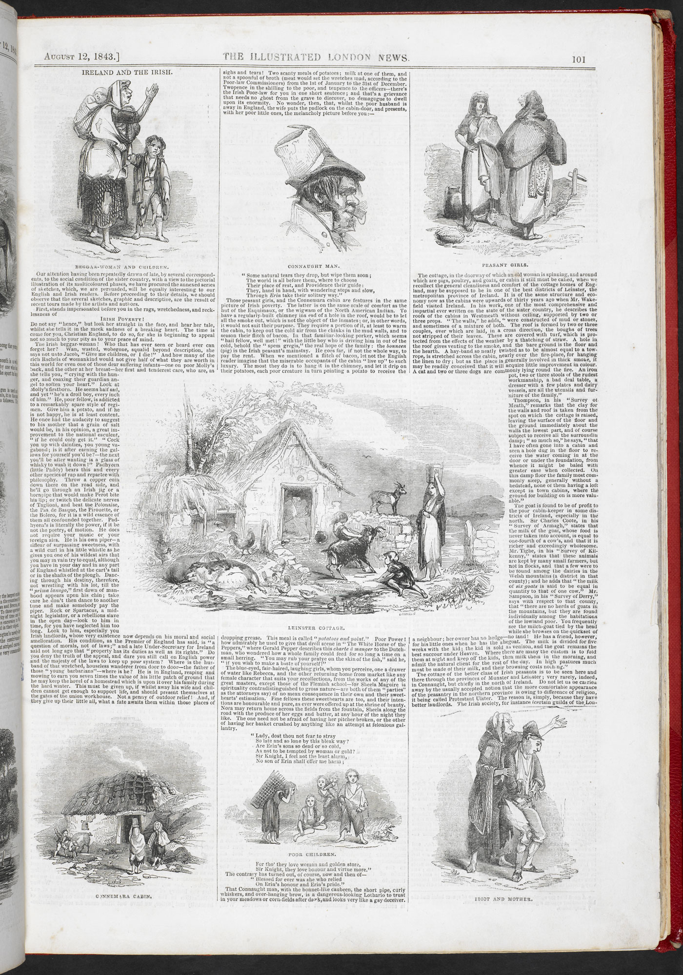 Ireland and the Irish' from Illustrated London News [page: 101]