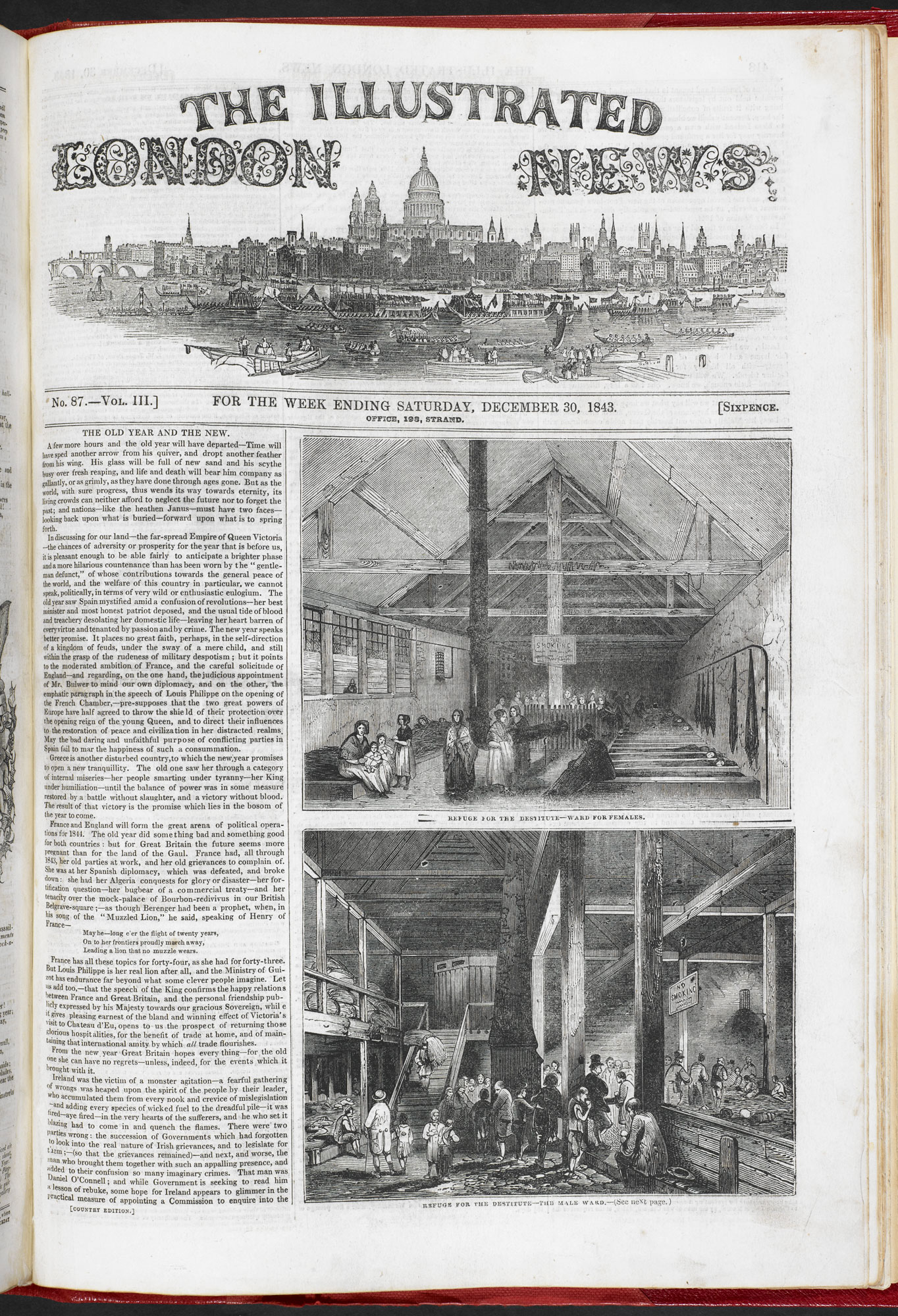 Refuges for the Destitute' from Illustrated London News [page: 417]