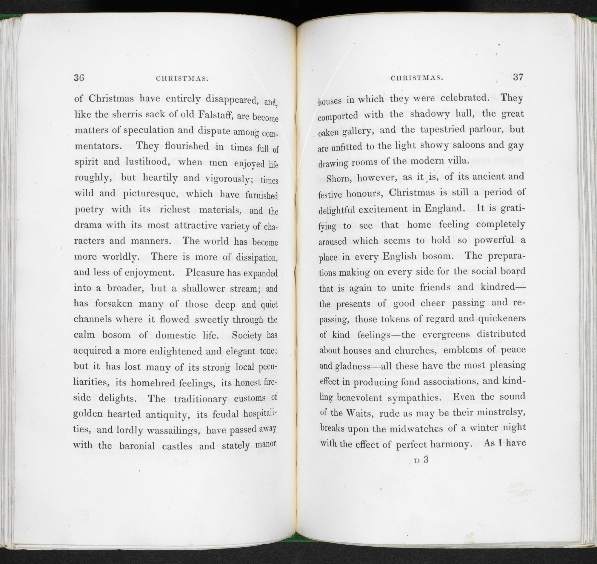 The Sketch Book of Geoffrey Crayon [page: 36-37]