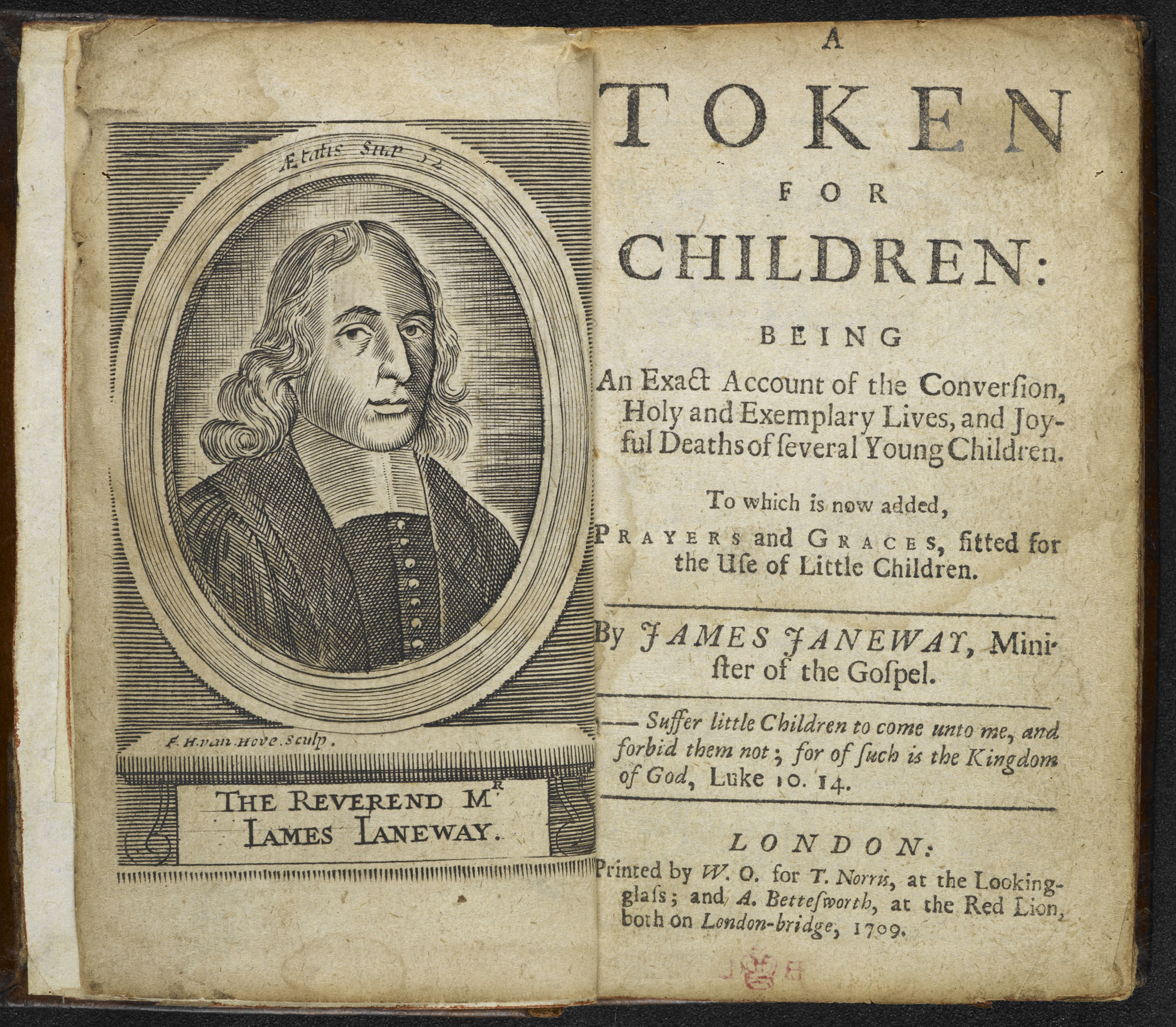 A Token for Children [page: frontispiece and title page]