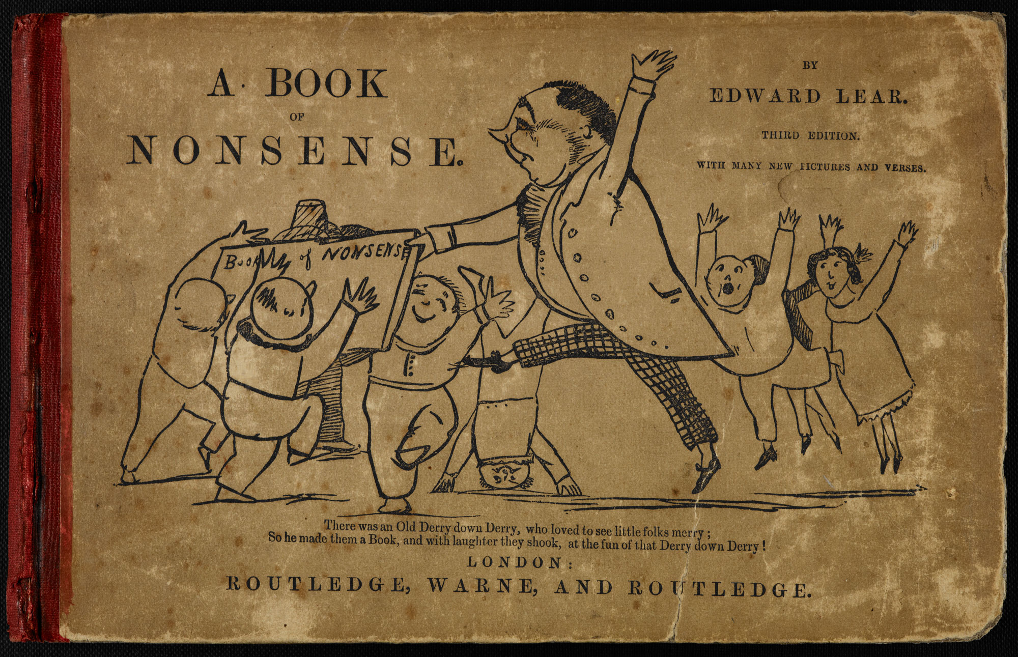 A Book of Nonsense by Edward Lear [page: front cover]