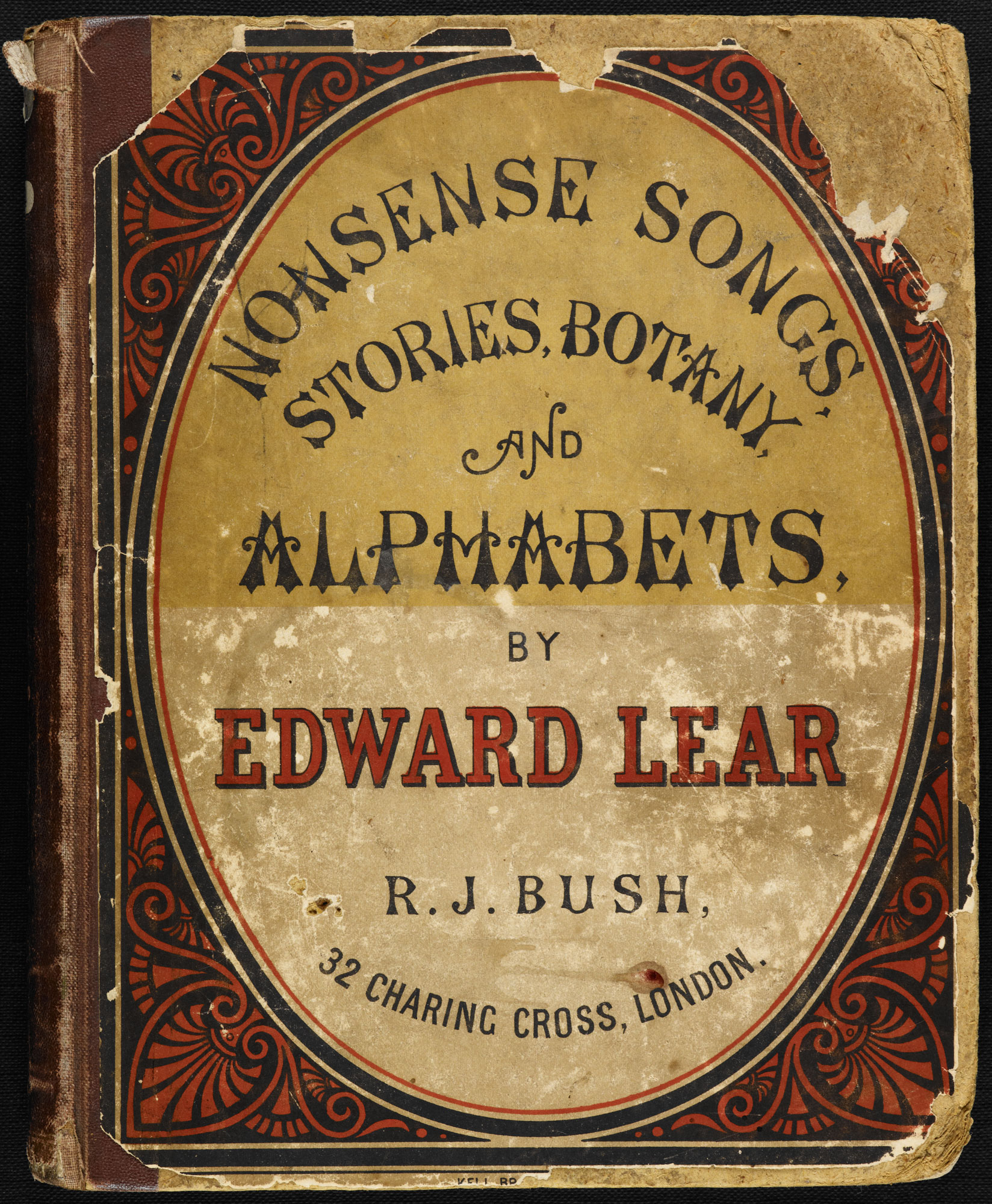 Nonsense Songs, Stories, Botany, and Alphabets by Edward Lear [page: front cover]
