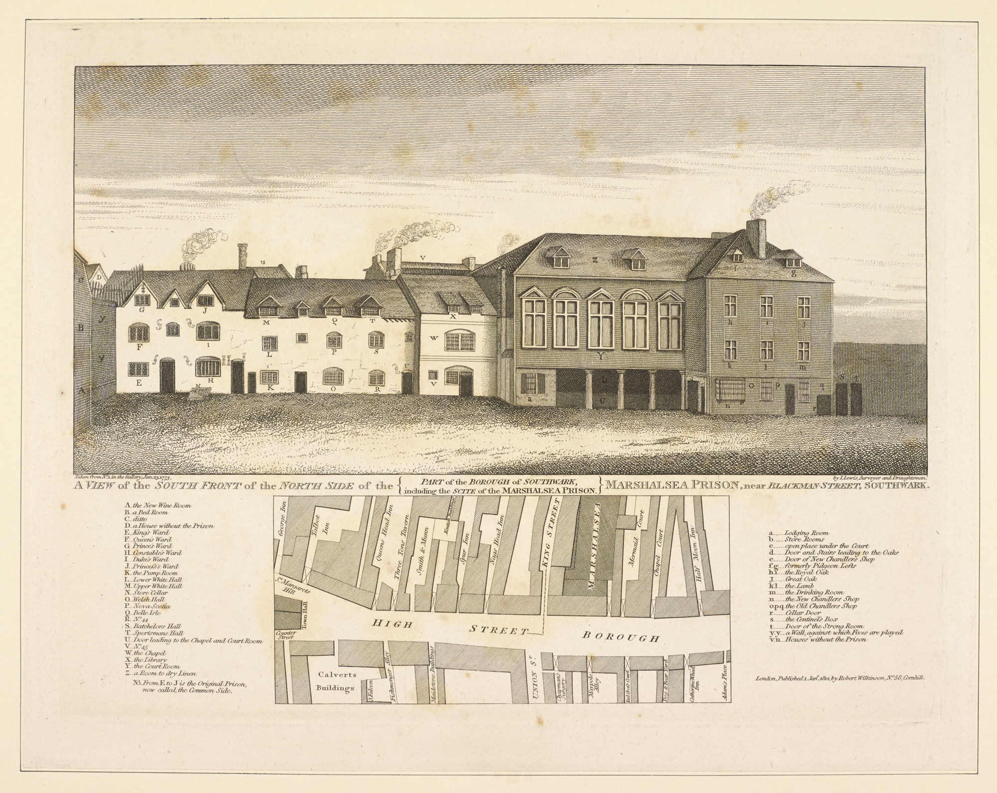 Engraving of the Marshall Sea Prison, where Dickens's father was imprisoned [page: 78]
