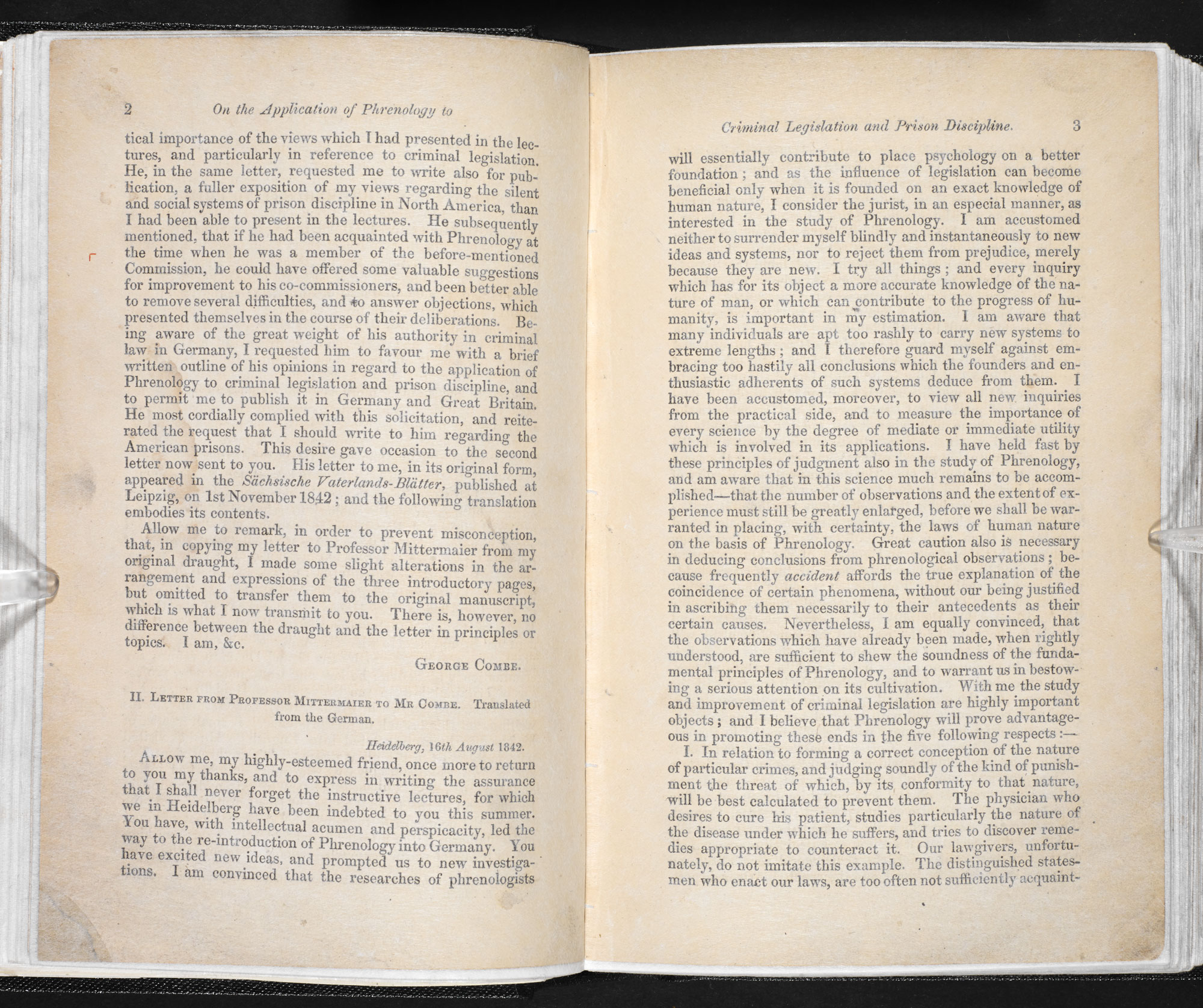 On the application of phrenology to criminal legislation and prison discipline [page: 2-3]
