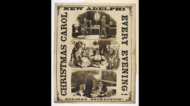 Playbill advertising 'A Christmas Carol' [page: 133]