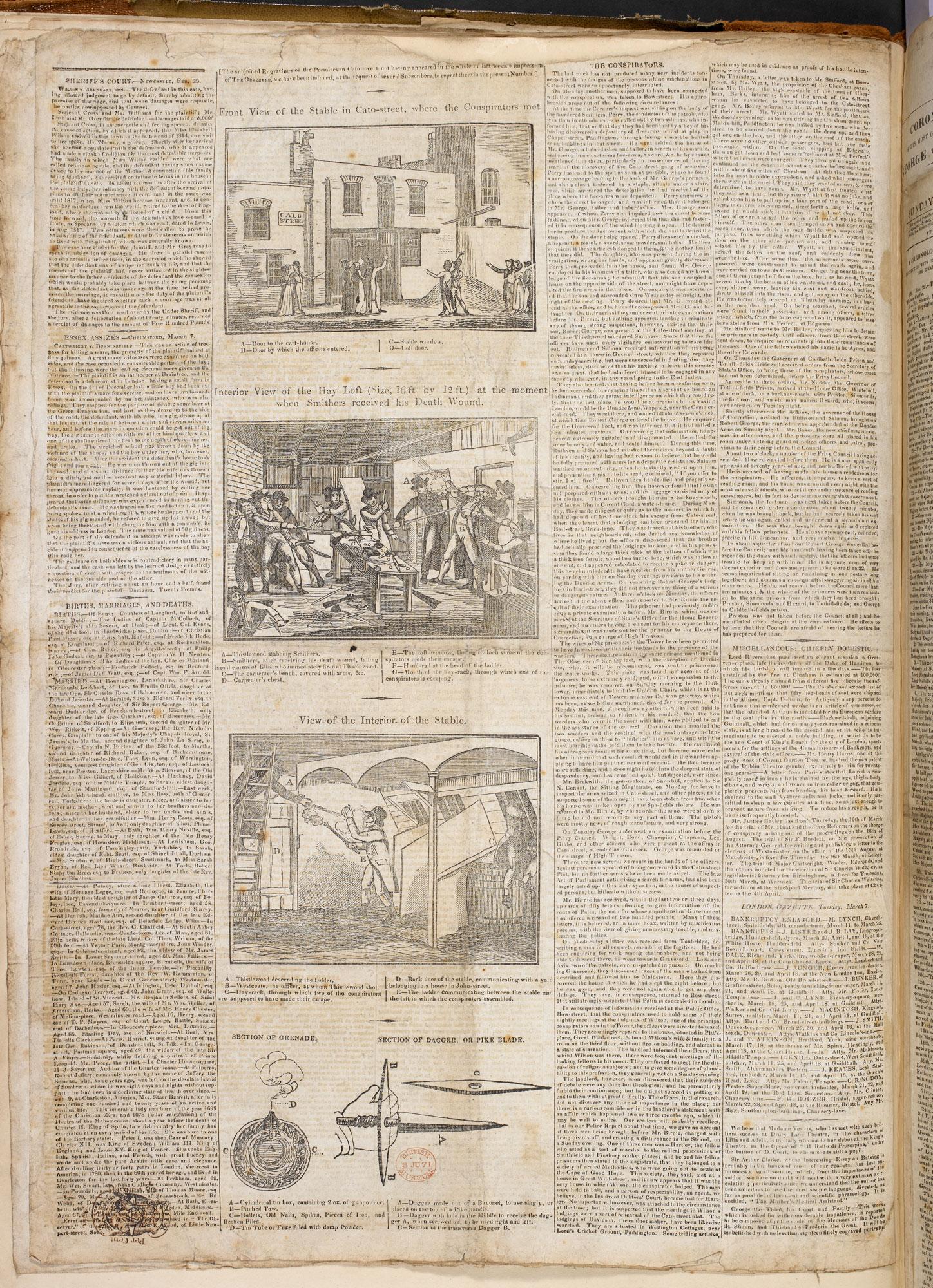 Cato-Street conspirators [page: 0]