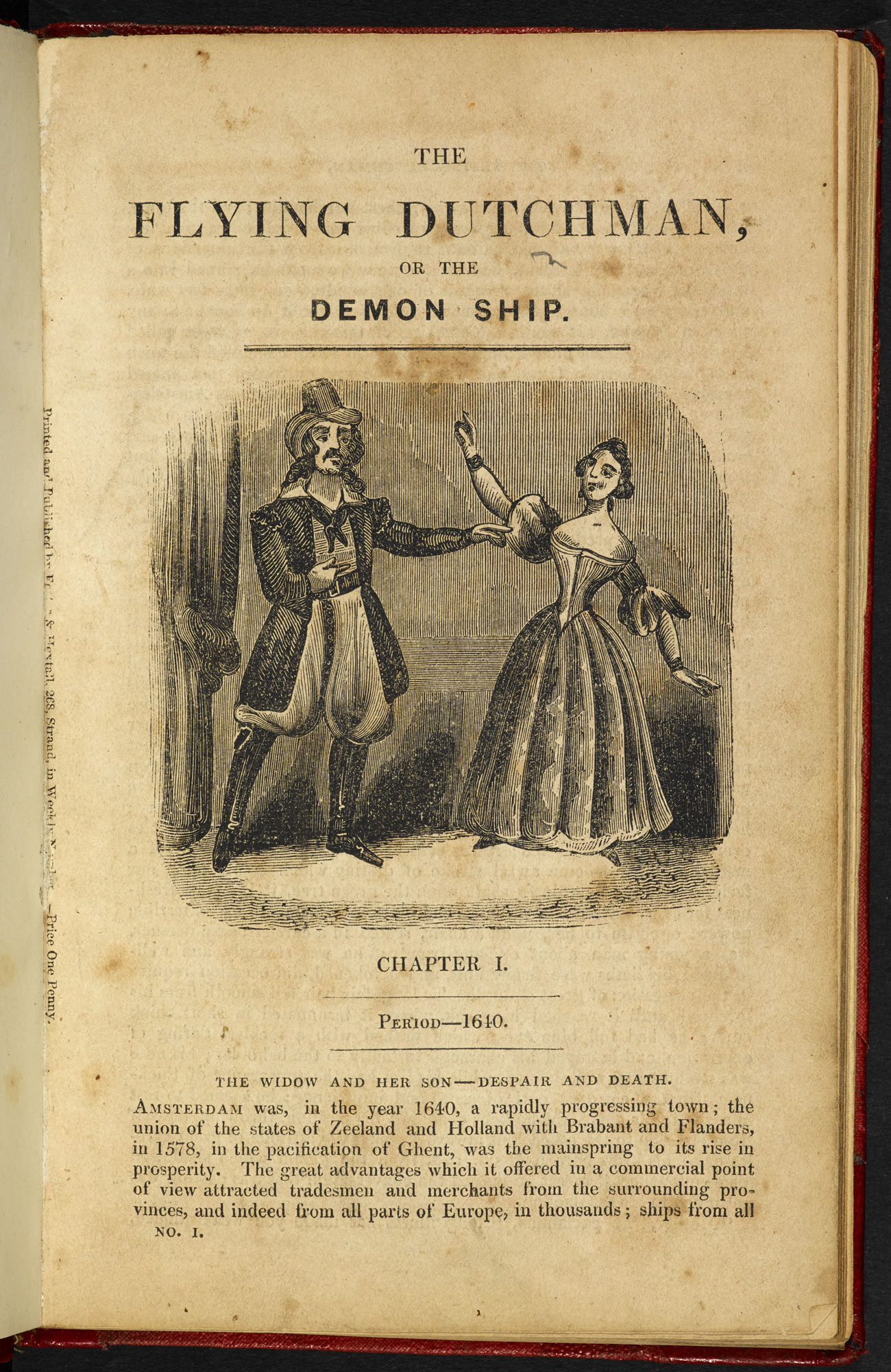 Penny dreadful, The Flying Dutchman [page: [1]]
