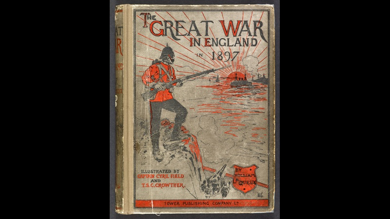 The Great War in England [page: front cover]