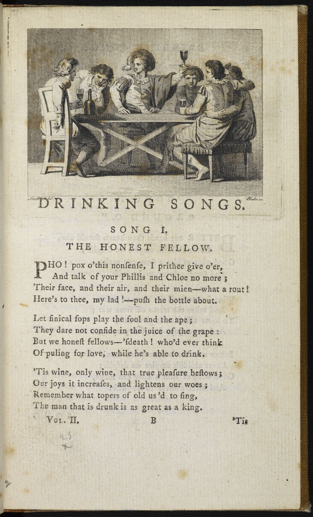 Select Collection of English Songs by Joseph Ritson [page: vol. II p. 1]