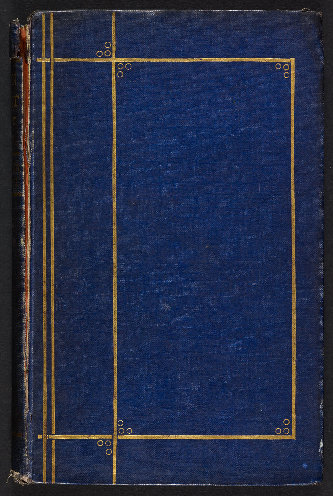 Second edition of Goblin Market by Christina Rossetti, with original covers [page: front cover]