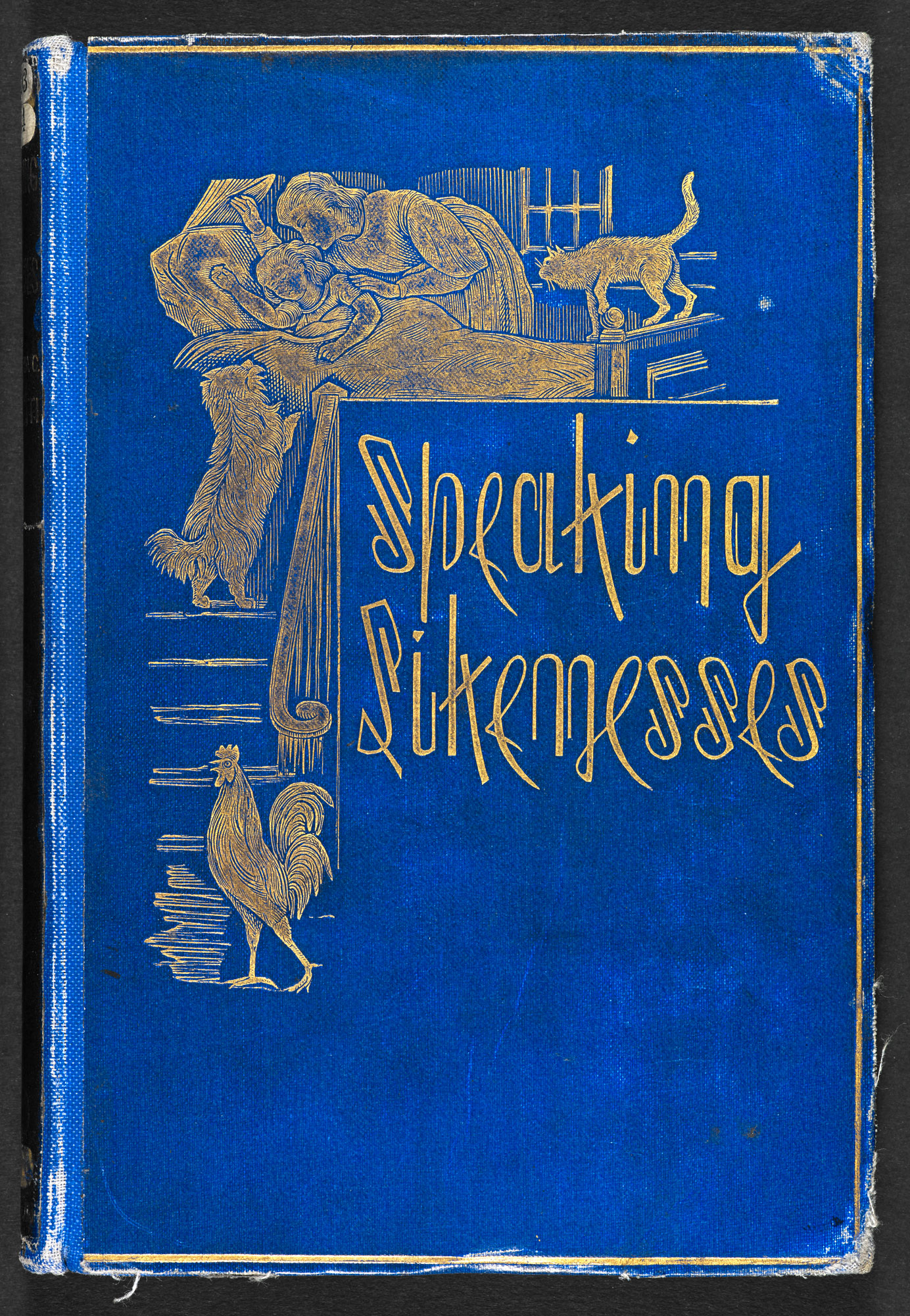Speaking Likenesses by Christina Rossetti [page: front cover]