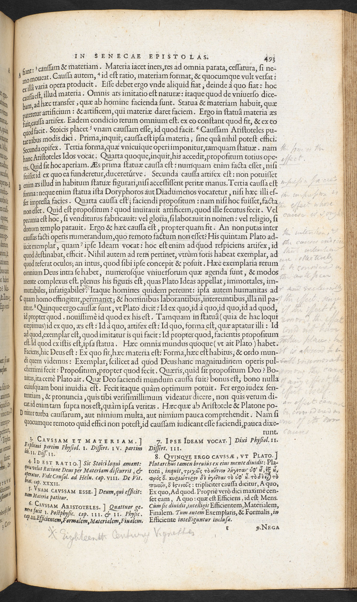 P B Shelley's annotated copy of Seneca's Philosophi Opera