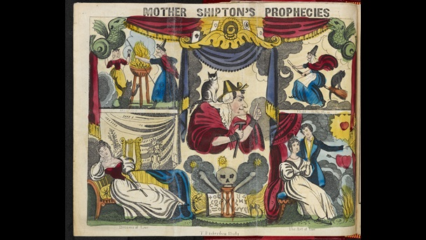 Mother Shipton's Wheel of Fortune; [page: fold-out frontispiece]