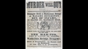 Broadside: Murder will out [page: single sheet]