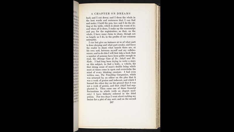 Preface to Strange Case of Dr Jekyll and Mr Hyde [page: vol. 12 p. 247]