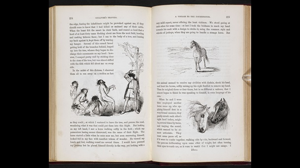 1864 illustrated edition of Gulliver's Travels [page: 274-75]