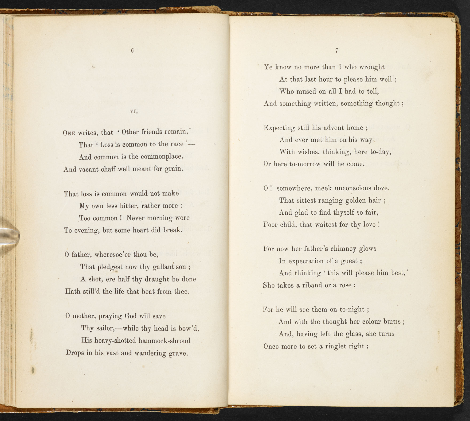 In Memoriam A.H.H. by Alfred Lord Tennyson [page: 6-7]