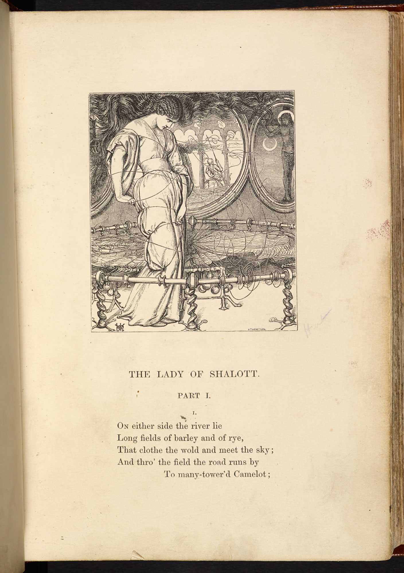 The Moxon illustrated edition of Tennyson's Poems [page: [67]]