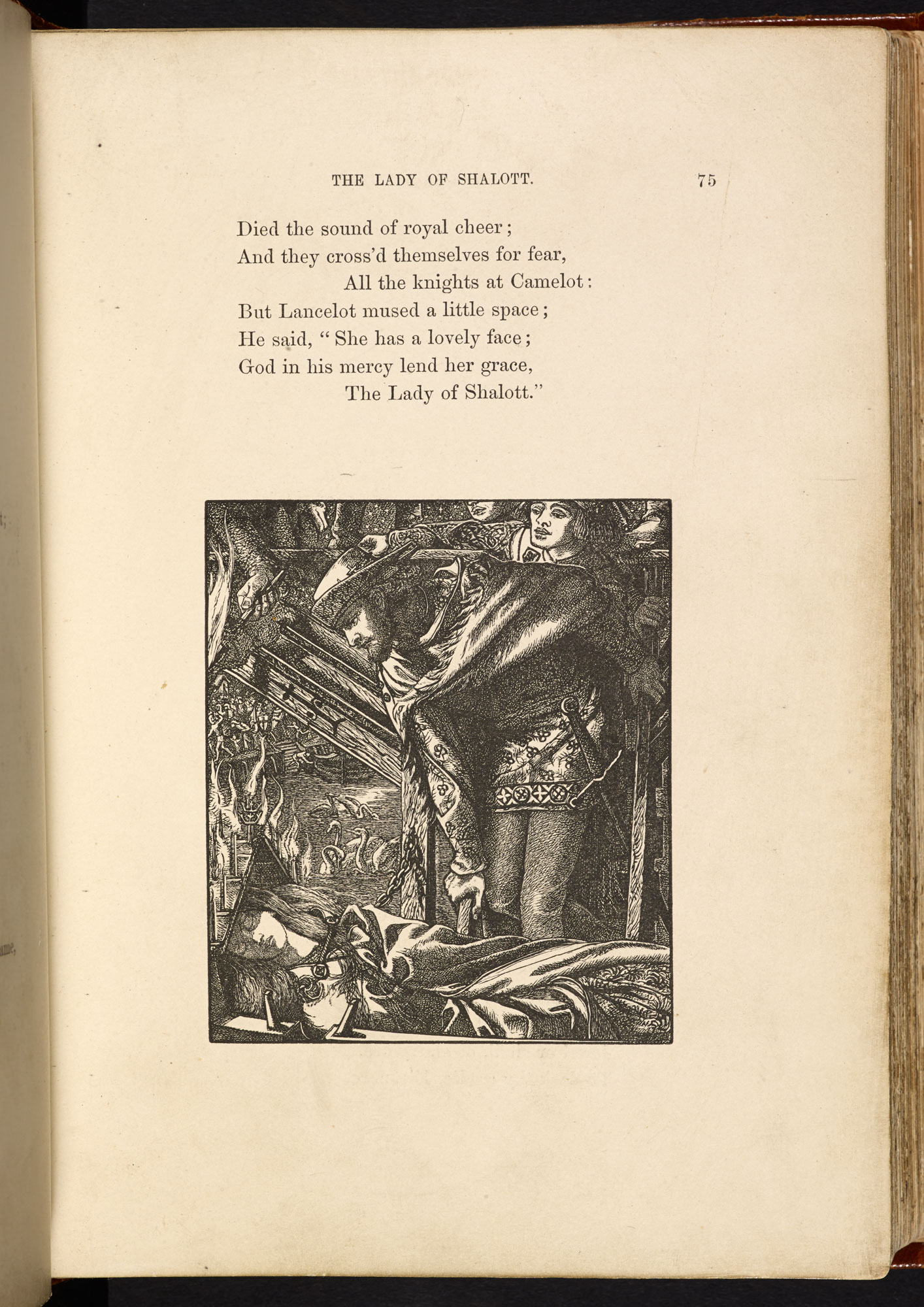 The Moxon illustrated edition of Tennyson's Poems [page: 75]