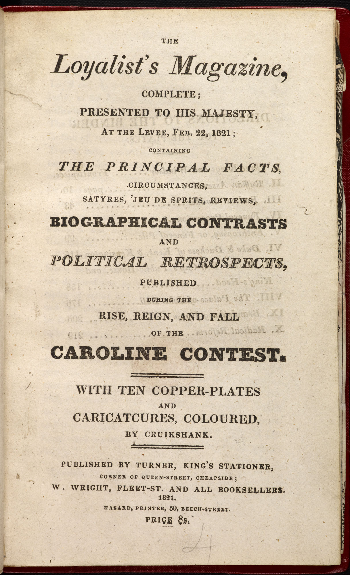 The Loyalist; or, Anti-Radical magazine [page: title page]