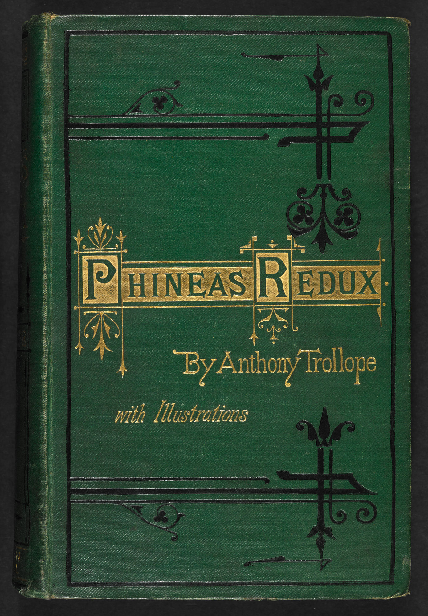 Phineas Redux by Anthony Trollope [page: front cover]