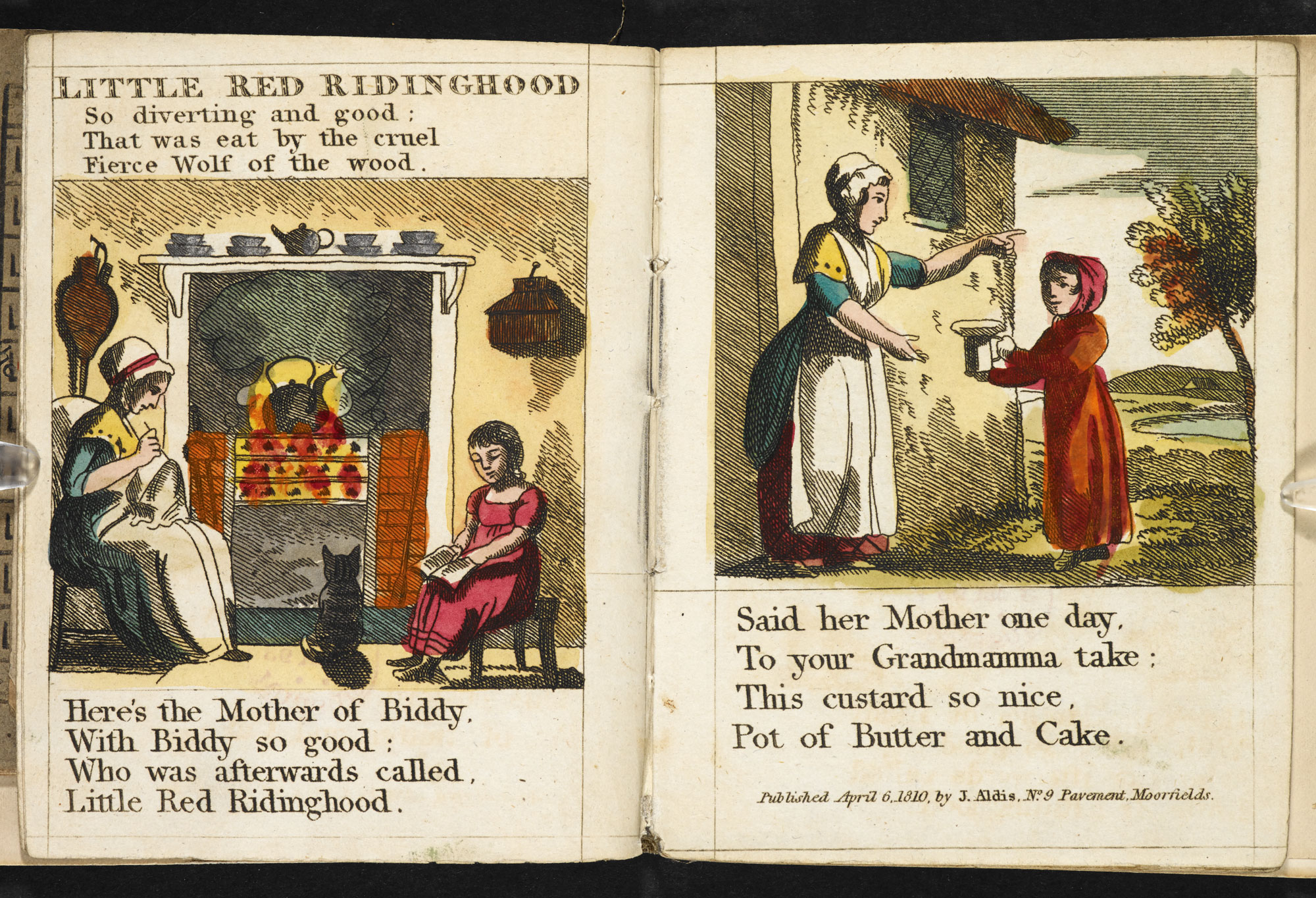 1810 edition of Little Red Riding Hood [page: 1-2]