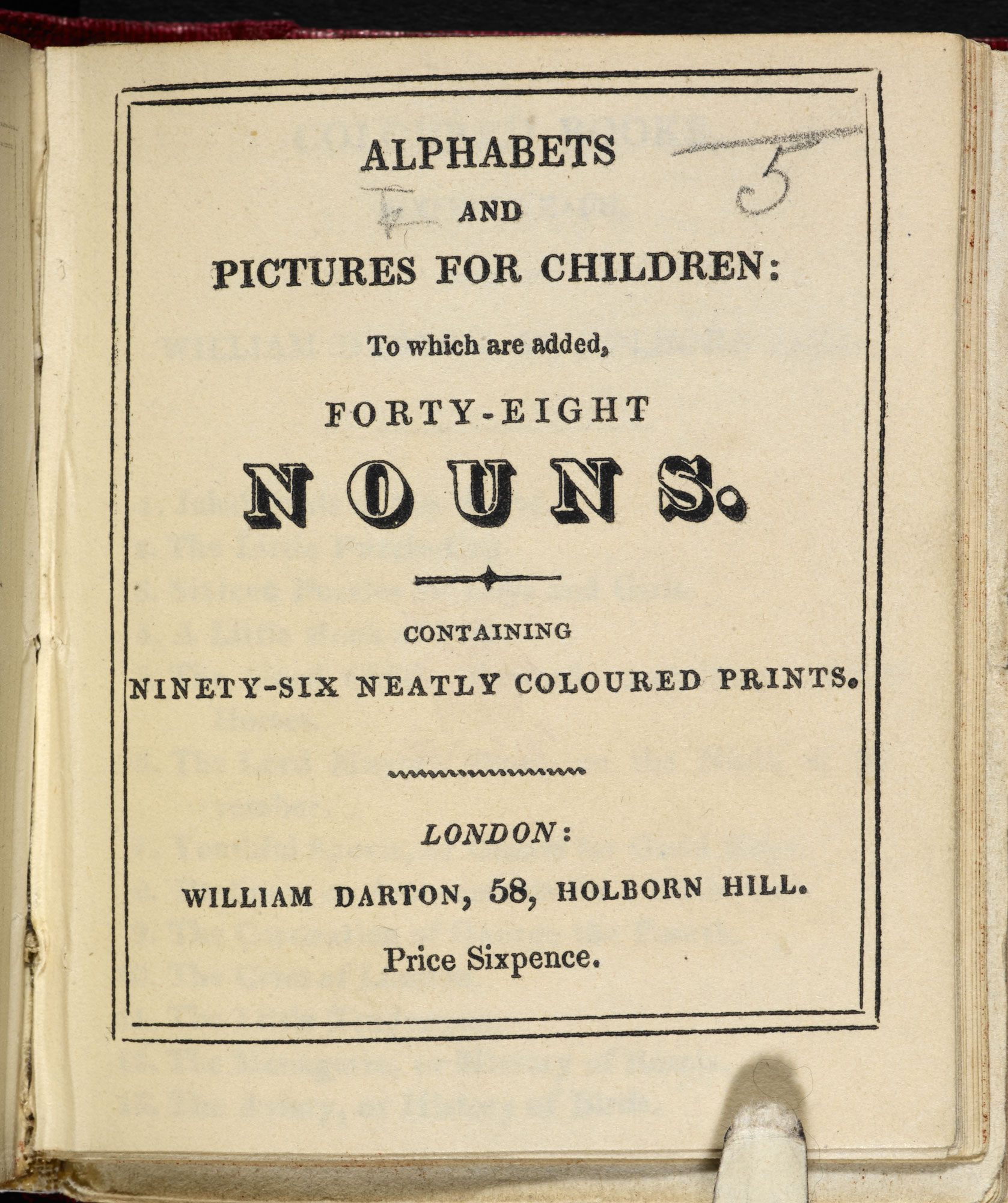 Alphabets and Pictures for Children [page: title page]