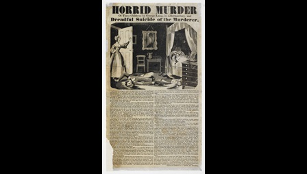 Broadside: Horrid murder of three children [page: single sheet]