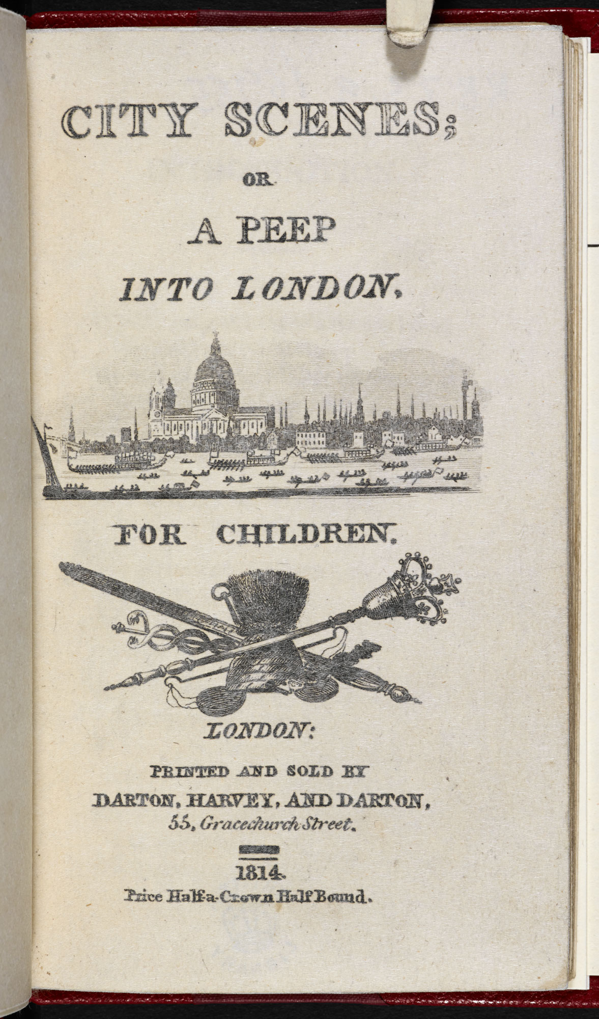 City Scenes; or A Peep Into London [page: title page]