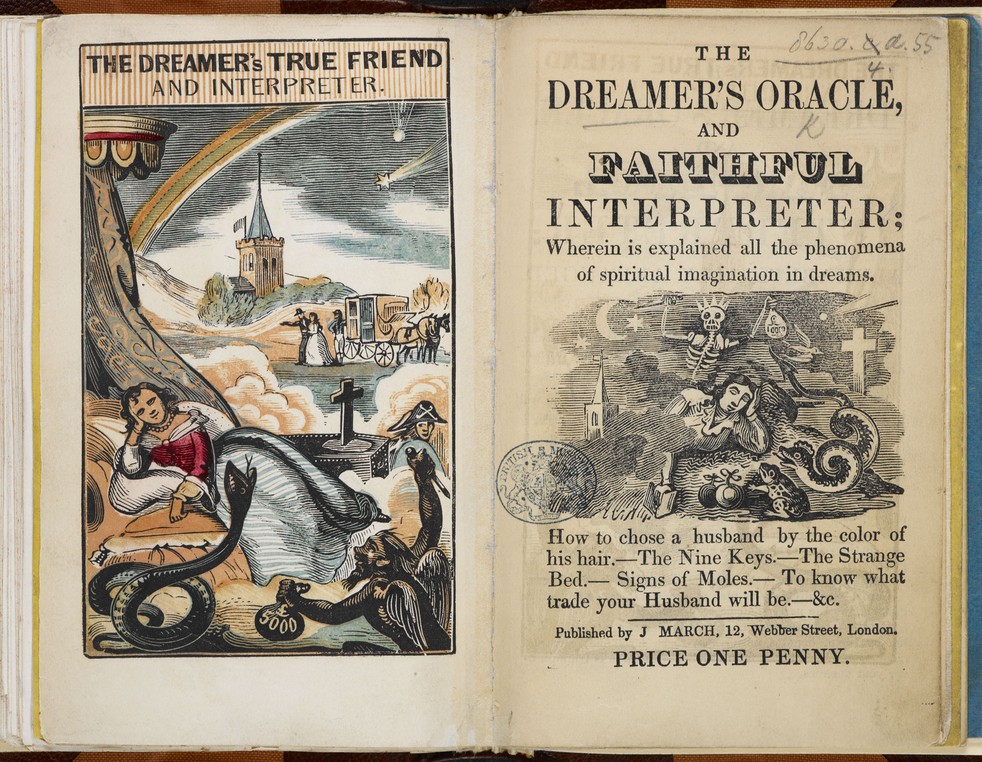 The Dreamer's Oracle  [page: frontispiece and title page]