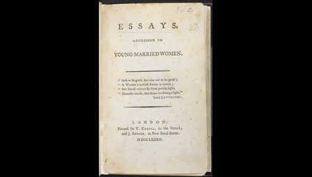 Essays Addressed to Young Married Women [page: title page]