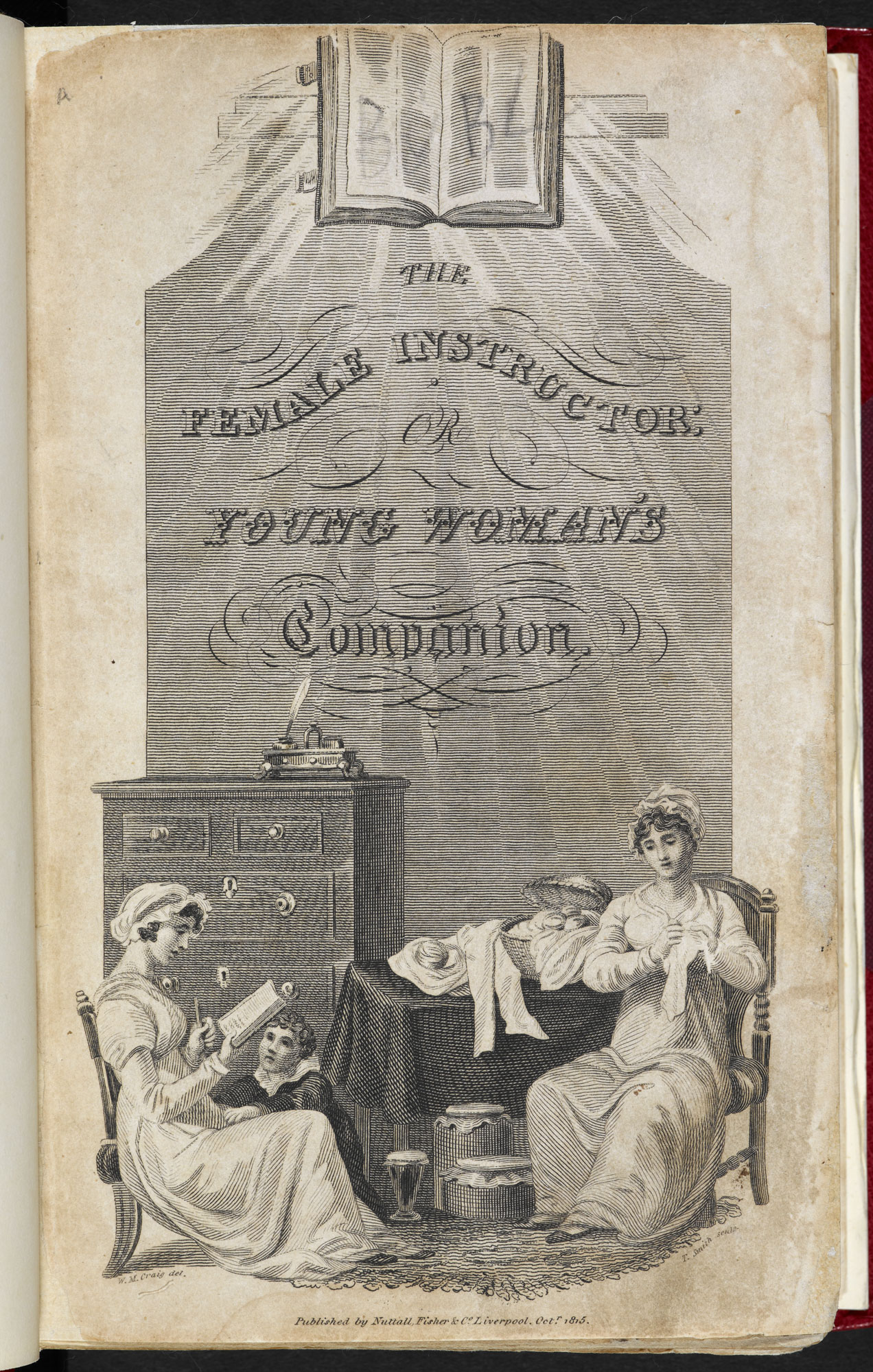 The Female Instructor [page: frontispiece]
