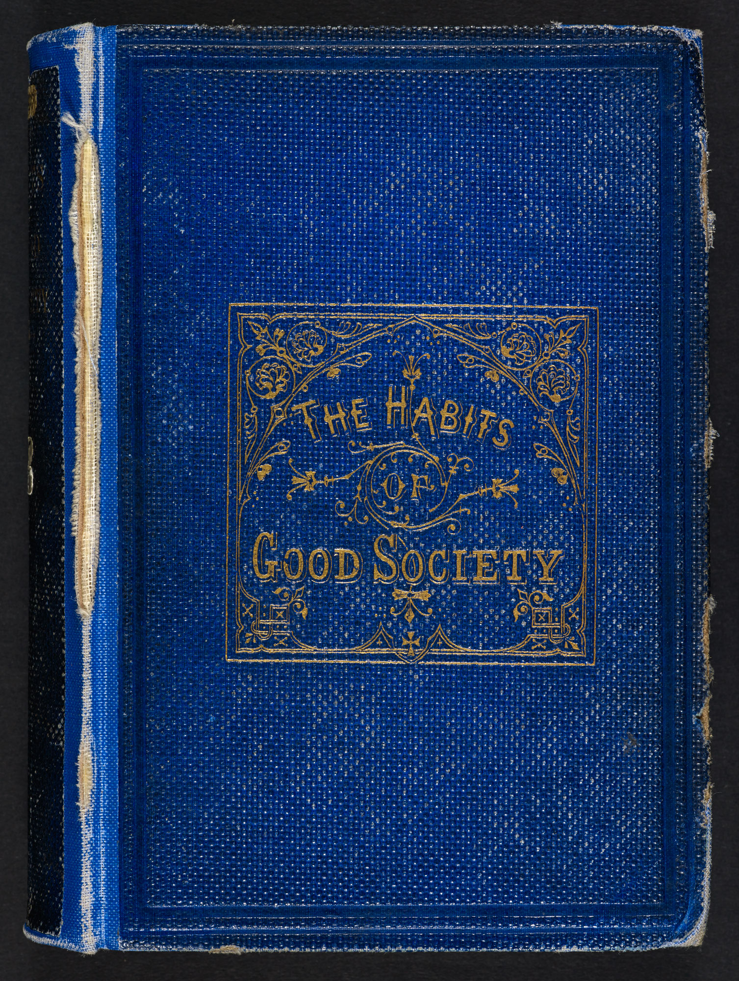 The Habits of Good Society [page: front cover]