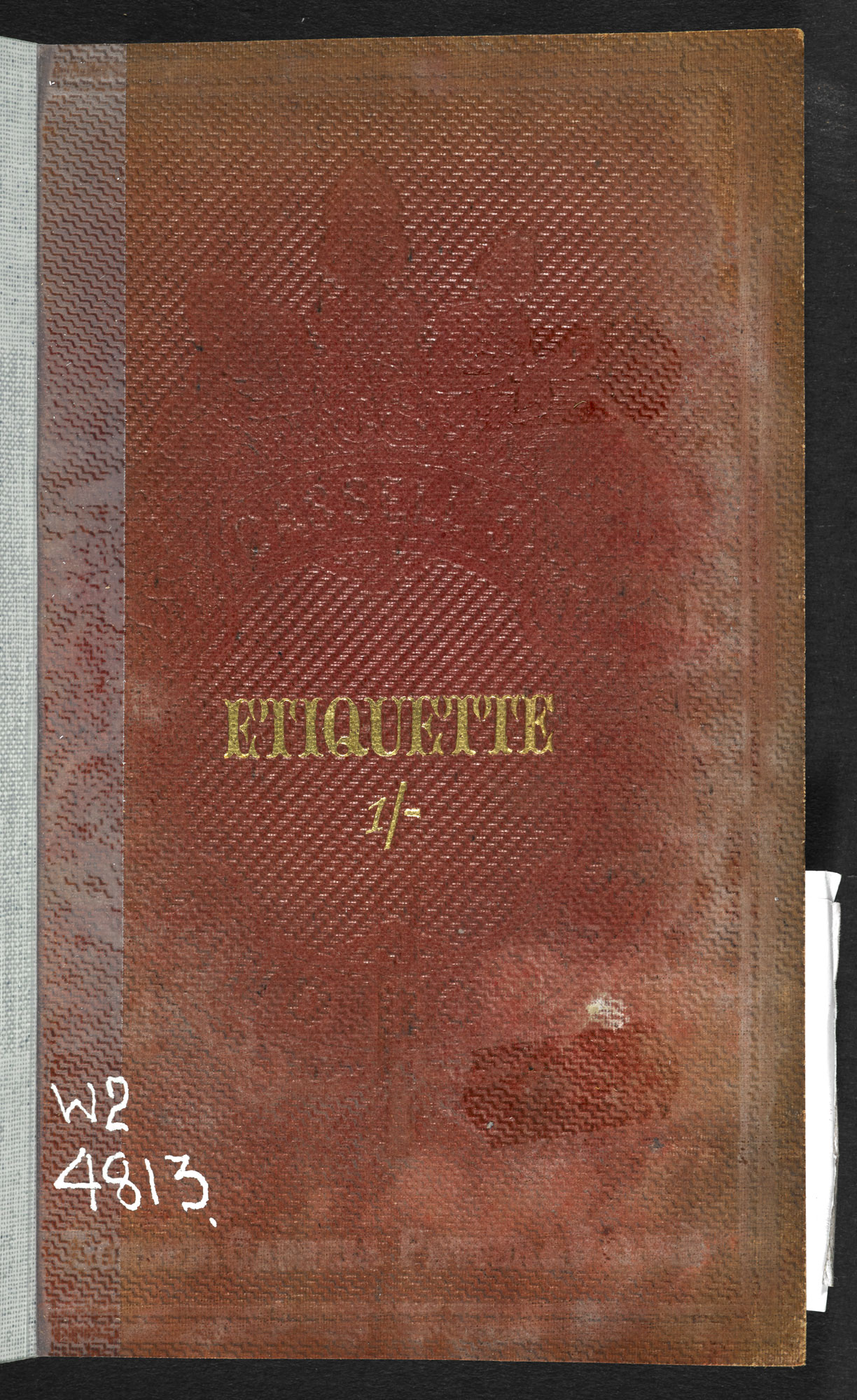 The Handbook of Etiquette [page: front cover]