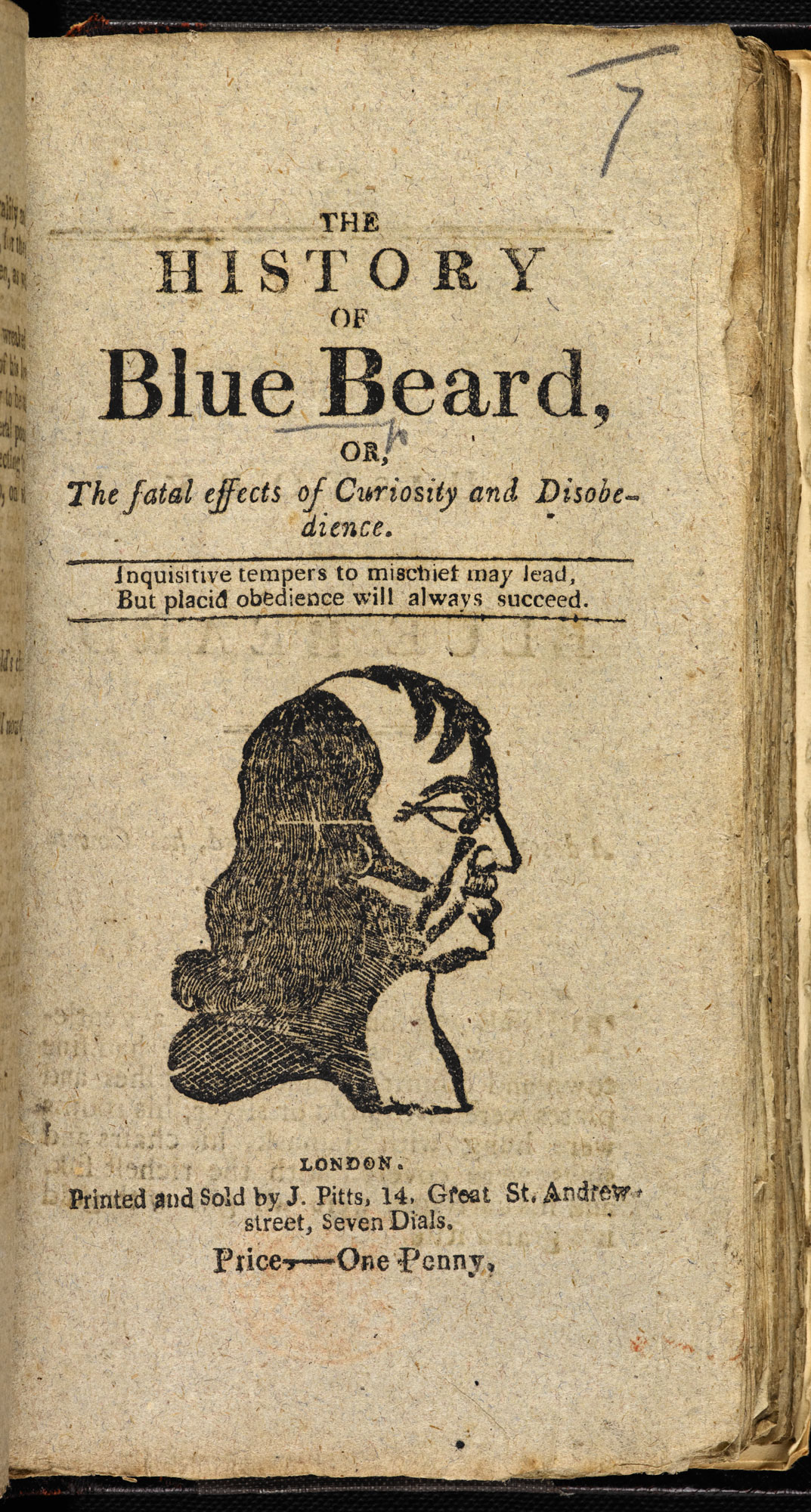 The History of Blue Beard [page: title page]