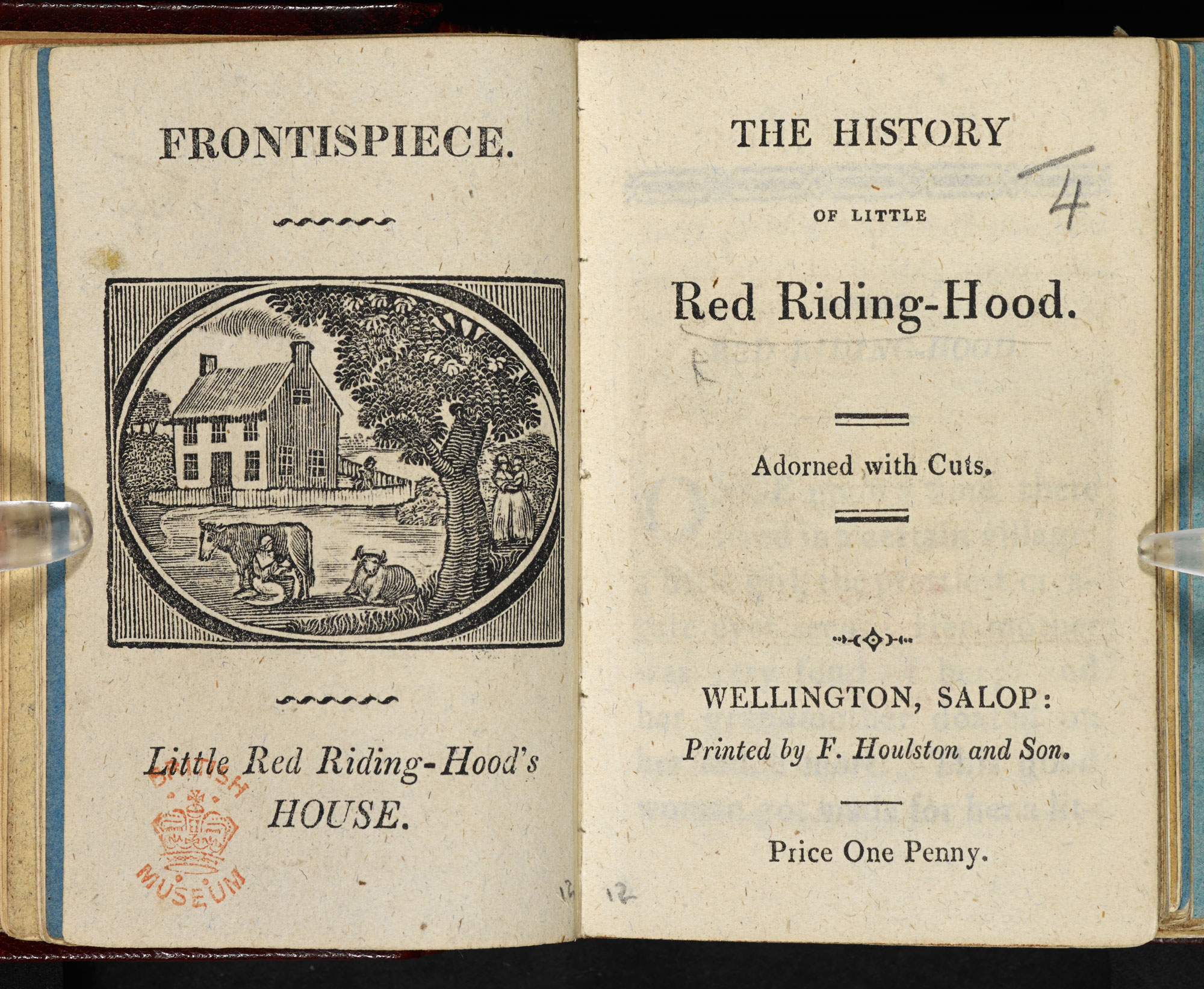 Little Red Riding Hood [page: frontispiece and title page]