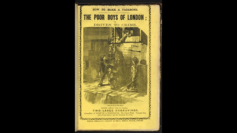 Penny dreadful, The Poor Boys of London [page: front cover]