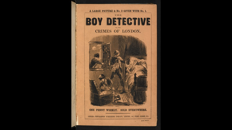 Penny dreadful, The Boy Detective [page: front cover]