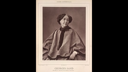 Photograph portrait of the novelist George Sand [page: 1]