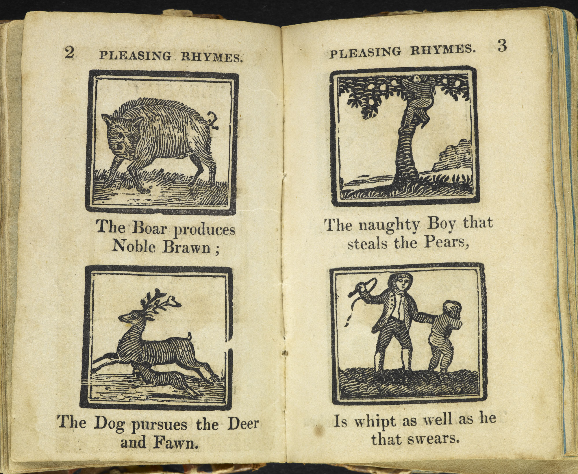 Pleasing rhymes, for children [page: pp. 2-3]