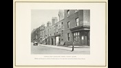 Reproduction photograph of Norfolk (now Cleveland) Street where Dickens and parents resided in 1816
