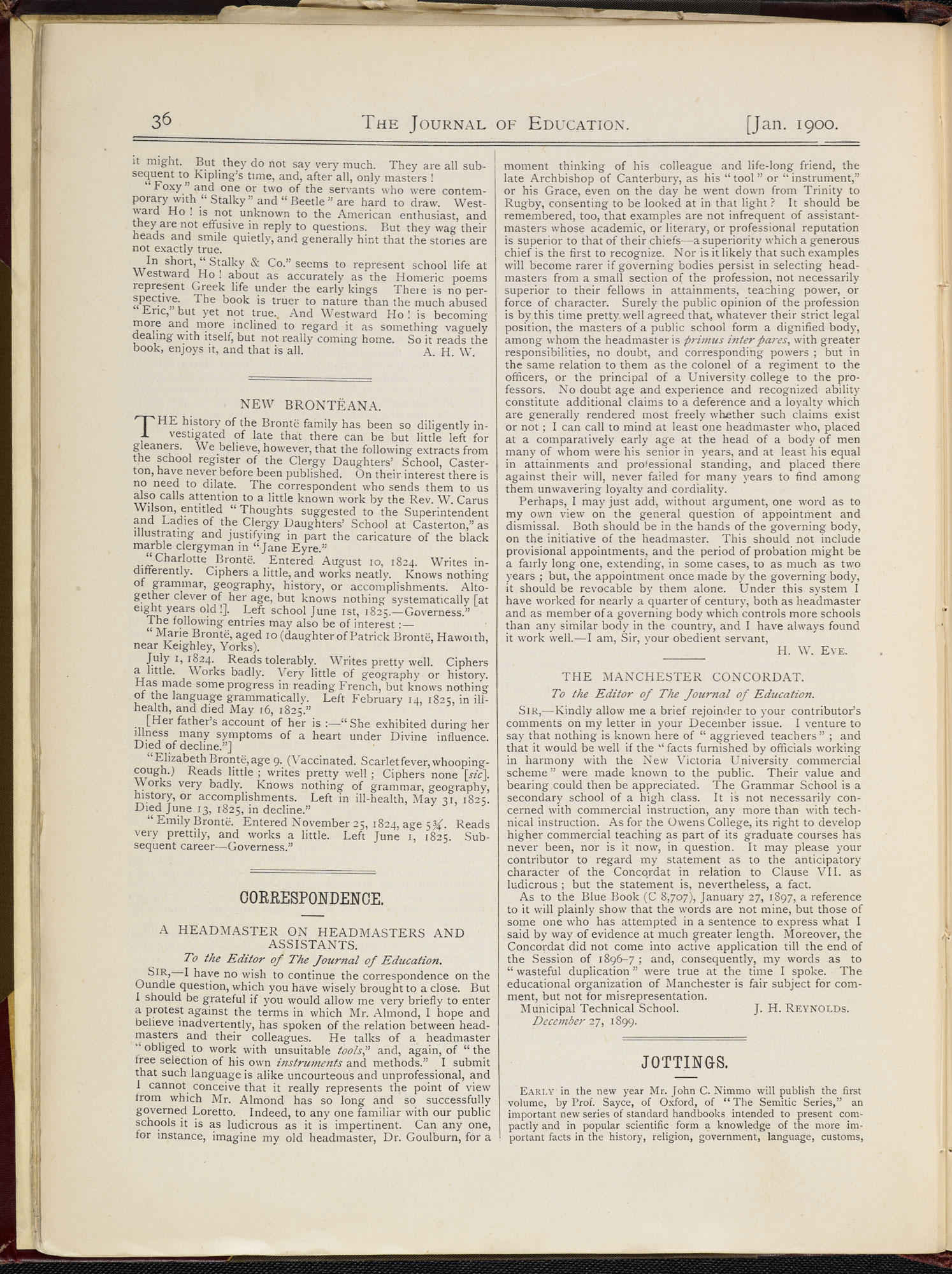 School report on the Brontë sisters [page: 36]